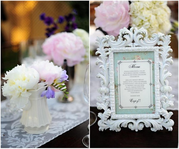 DIY Vintage Inspired Wedding Decor