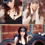 Bridal Boudoir ~ Modern Rocker Bride Shoot