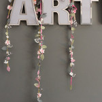 DIY Wedding Decorations ~ Spring Wedding Garland