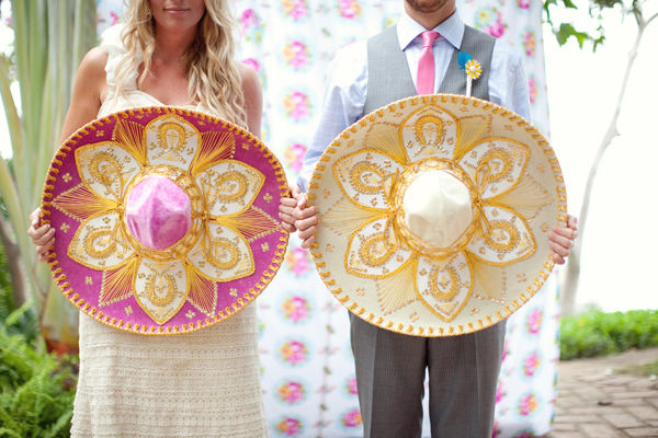 mexican wedding theme Wedding Wrap: Spicy, Sparkles & Pretty Pastels