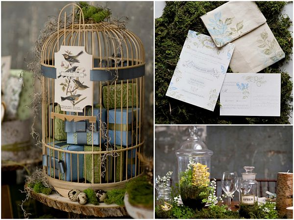 Natural Spring Wedding Themes