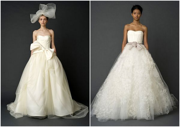 vera wang spring collection1 Wedding Dresses by Vera Wang Spring Collection 2012