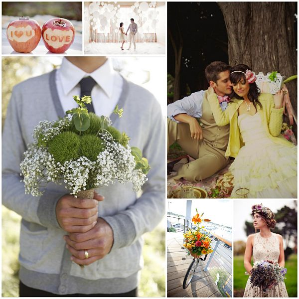 wedding blog for brides Balloons, Apples & Vintage Love | Wedding Wrap