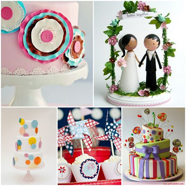 Whimsical Wedding Cakes