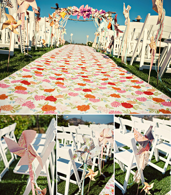Whimsical Wedding Outdoors