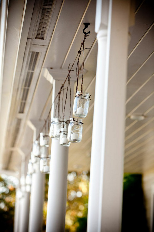 Outdoor Mason Jars