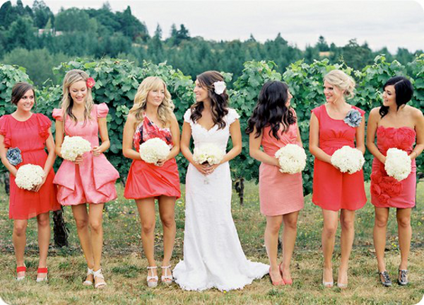 summer wedding colour palette 10 Chic Ideas For A Summer Wedding Theme