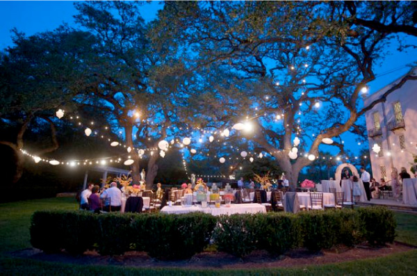 Summer Outdoor Wedding Decorating Ideas Photograph | summer