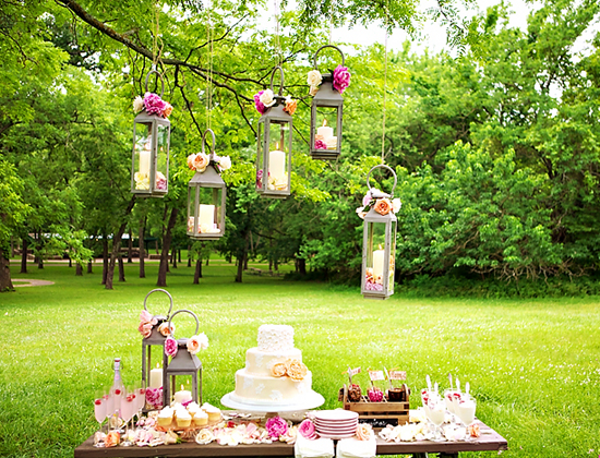 Summer Wedding Dessert Buffet