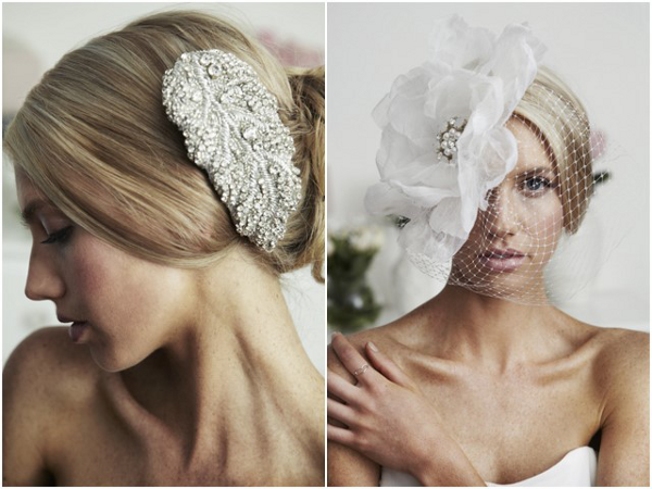 Vintage Glam Bridal Hair Accessories