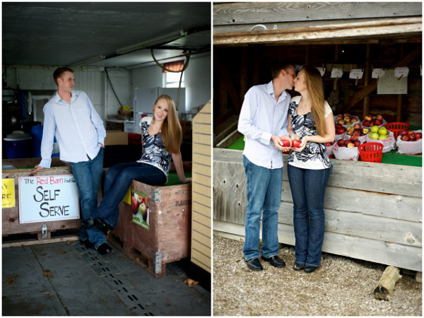 Country Charm Engagement Session