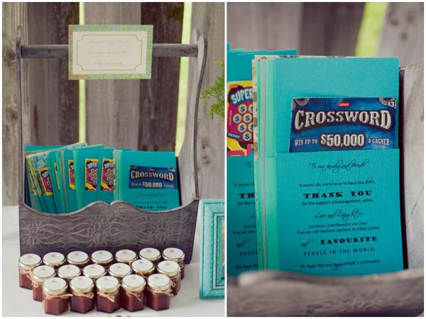 DIY Backyard Wedding Favors - DIY Backyard Wedding Favors Love Wed Bliss