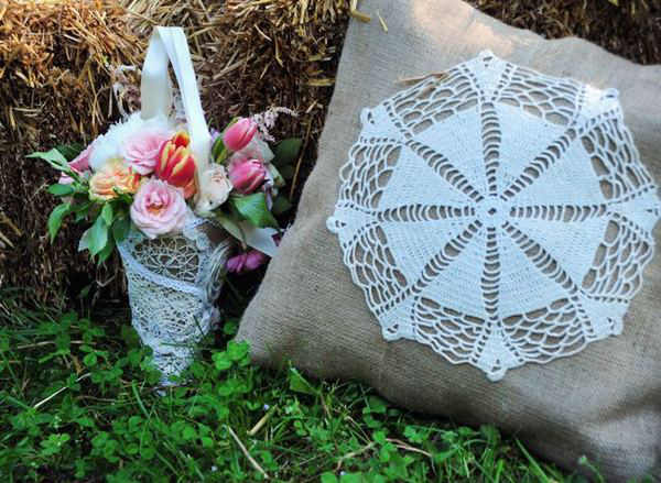 Lace Doily Decor