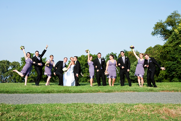 outdoor virginia wedding Elegant Summer Virginia Wedding by Jan Michele Photography