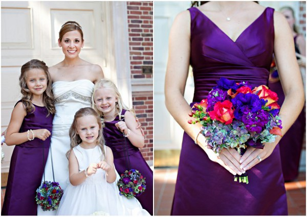 Real Weddings Purple