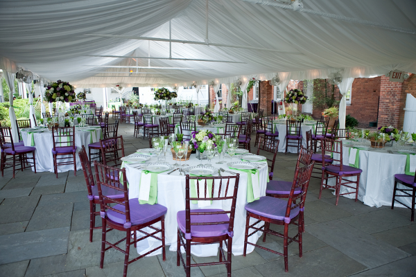 summer wedding marquee Elegant Summer Virginia Wedding by Jan Michele Photography