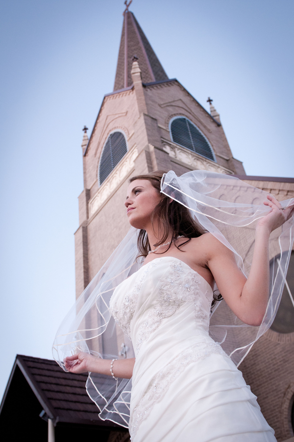 Texas Bridal Ghost Town Session
