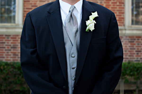 Traditional Wedding Grooms Tuxedo
