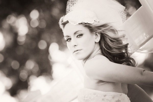 Vintage Bridal Garden Shoot