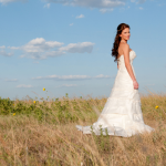 Sunset Rustic Bridal Session by Kelly Cameron Photography