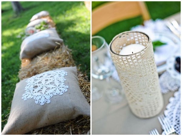 Wedding Doily Ideas Decorations