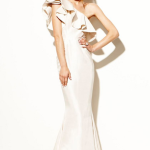 Wedding Dress Inspiration Ruffle Dress