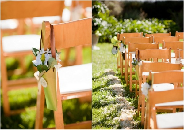 Ahmanson Rustic House Wedding