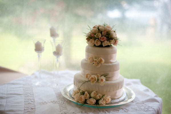 Arosa Guest Ranch Wedding Cake