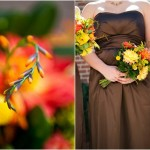DIY Autumn Backyard Wedding by Elizabeth Davis Photography