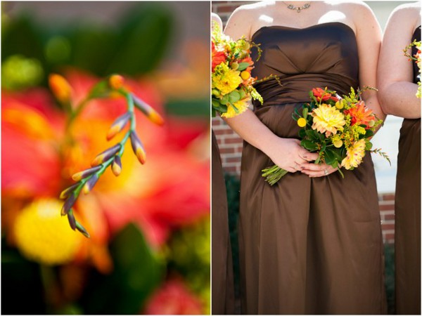 Autumn Outdoor Wedding