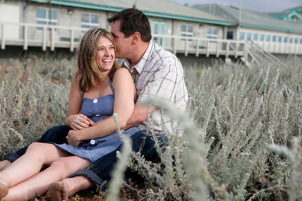 beach engagement california Moss Landing CA Beach Engagement Shoot