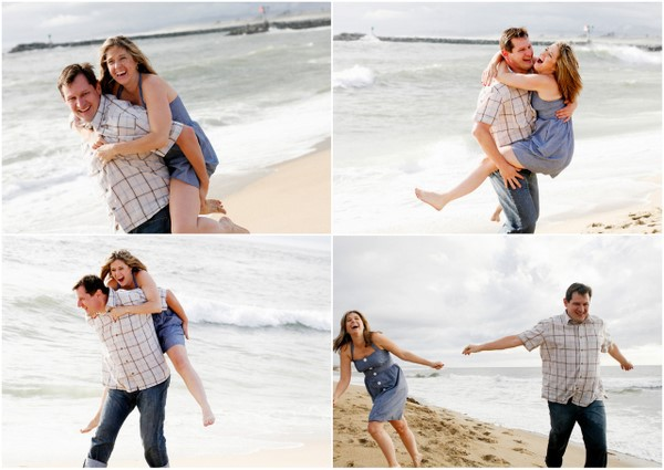 Beach Engagement Shoot