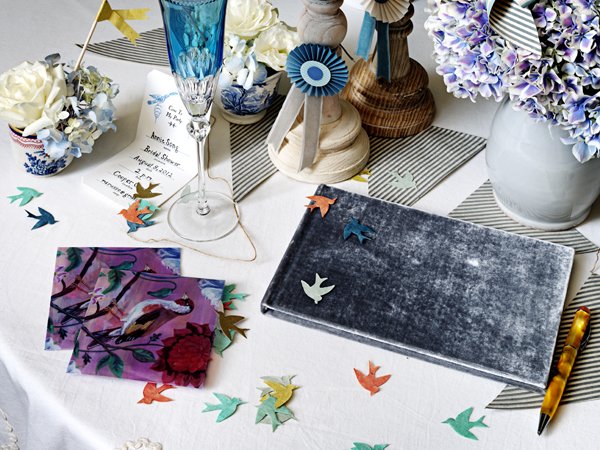 BHLDN Oiseau Guest Sign In Table