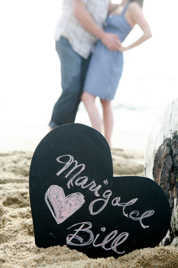 California Beach Engagement Photos