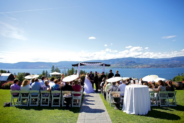 Canadian Winery Wedding