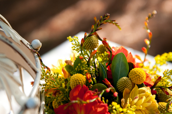 DIY Autumn Wedding Flowers