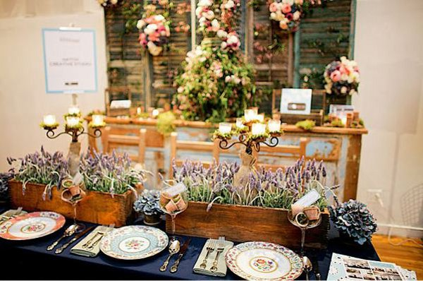 diy wedding ideas vintage mismatched china Vintage Mismatched China