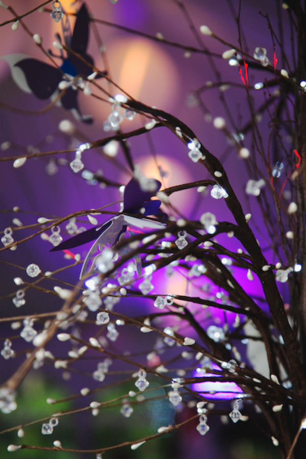 Enchanted Forest Purple Wedding