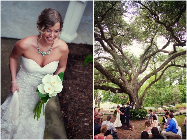 Louisiana Backyard Wedding