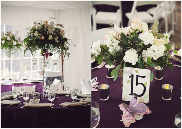 Mauve Enchanted Forest Wedding
