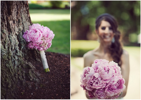 Mauve Wedding Whimsical Theme