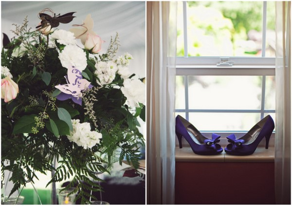 Mauve Whimsical Wedding