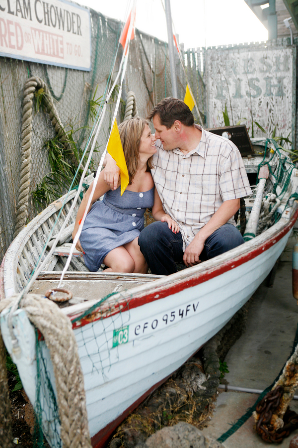 moss landing fish market Moss Landing CA Beach Engagement Shoot