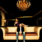 Miami Night Club Engagement Session by FCN Photography