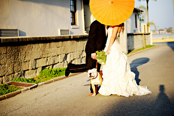 orange outdoor whimsical wedding Bright Orange Whimsical Outdoor Wedding by Pure Sugar Studios