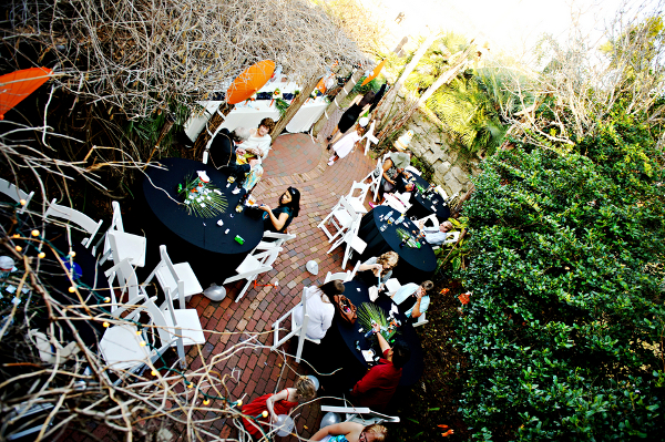 Outdoor Whimsical Wedding Reception