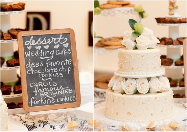 rustic wedding cake DIY Ahmanson Ranch Wedding by The Youngrens