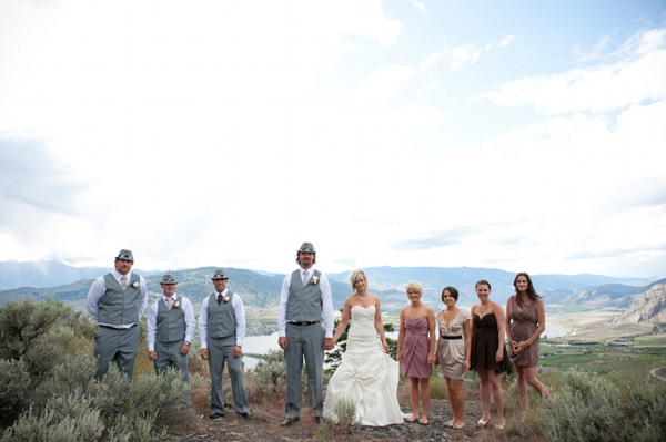 Rustic Weddings Bridal Party