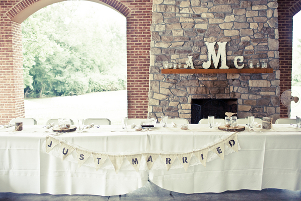 Tennessee Wedding Reception Table