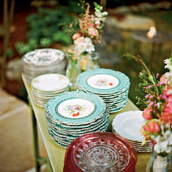 Vintage Mixmatched China